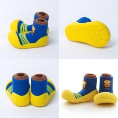 Giày chức năng tập đi cho bé Attipas ROBOT Hàn Quốc, ARO03-Yellow