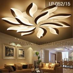 Đèn ốp trần 15 lá 6001/15 (3 màu) – Kmart + Tặng kèm bộ điều khiển cao cấp (Liên hệ 097749.8888 để được tư vấn)