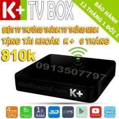 Android tivi box K+ TV BOX và 7 tháng thuê bao Premium HD+