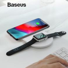 Mua Đế sạc nhanh không dây cao cấp cho Iphone Xs và Apple Watch công xuất 10W thông minh mầu trắng tuyệt đẹp chuẩn Qi cho iphone X , iphone 8,Samsung S9, Note8 đến từ Hãng Baseus WX2IN1 ở đâu tốt?
