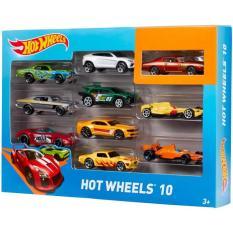 Bộ 10 Xe Đua Hot Wheels Tỉ Lệ 1:64 – Xe Mô Hình Cơ bản Hot Wheels 8621