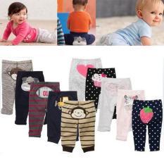 Combo 5 quần dài sơ sinh (quần mông thú Carters) cho bé