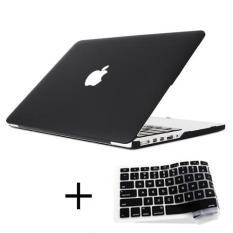 "[HOT TREND] Combo Case Ốp Macbook Pro 13.3 "" (Có ổ CD) Kèm Phủ Màu Đen (Model A1278)"