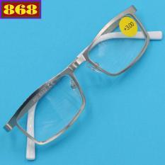 Mắt kính lão 868 inox trắng 3 độ