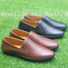 [DA BÒ XỊN] Giày lười giày mọi nam GLNLZ85 siêu êm chân cung cấp bởi MENLI (Hoàn tiền nếu sai cam kết)