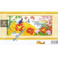Tranh thêu chữ thập vợ chồng-X8102-Ngọc Thịnh