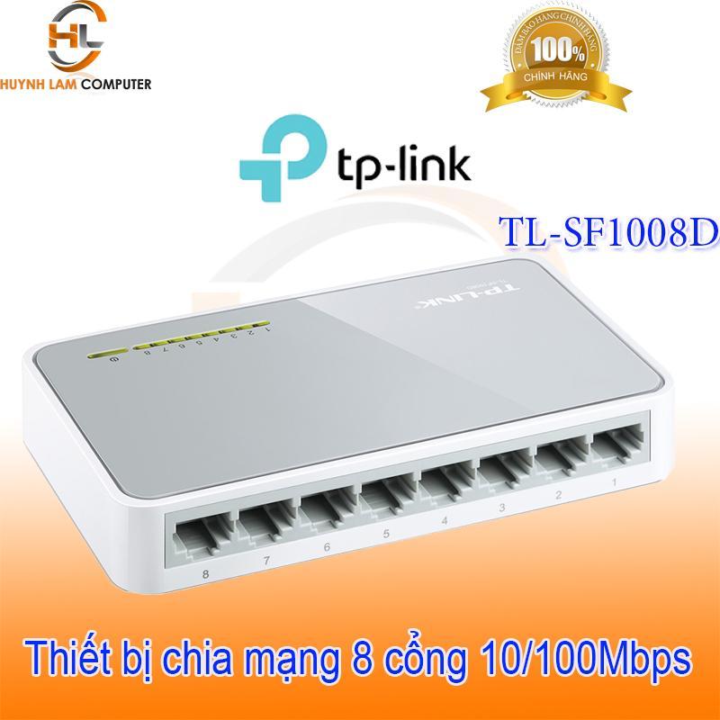 Switch 8 port - Bộ chia mạng 8 cổng TPLink SF1008D FPT phân phối