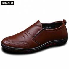 Giày lười da nam thời trang công sở ROZALO RM5229