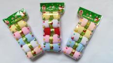Set 5 đôi vớ, tất kẹo (tất da chân) cho bé