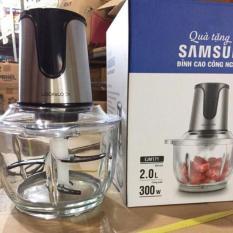 Máy Xay Thịt Lưỡi Đôi Lock&Lock Cối Thuỷ Tinh EJM171 Samsung