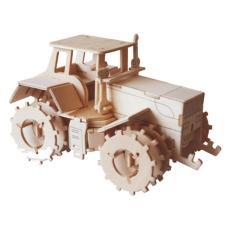 Đồ chơi lắp ráp gỗ 3D Mô hình Máy kéo