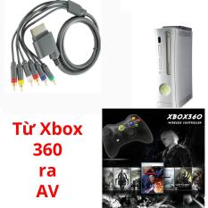 Cáp chuyển tín hiệu từ Xbox 360 ra Tivi RCA component 5 ngõ