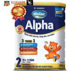 Sữa bột Dielac Alpha Step 2 900g