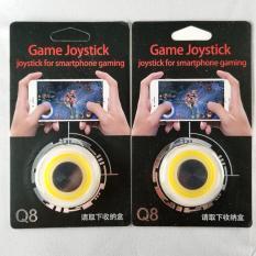 Nút Bấm Chơi Game Mobile Joystick Q8 Đế Bám Dính Siêu Tốt Nhiều Màu – Màu Vàng