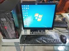 Bộ máy PC ADA1L17 + Màn hình LCD 17 tặng phím chuột NEW, đáp ứng nhu cầu lướt web, xem phim, nghe nhạc, đọc báo, soạn thảo văn phòng