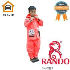 Áo mưa trẻ em bộ ong mật Rando CSPS-18 Size 3 1.05 – 1.2 m