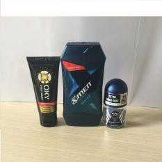 (NHH) Trọn bộ 3 Sản Phẩm Bao Gồm (1 Dầu Gội Đầu X-men (150g/chai), 1 Lăn khử mùi Nivea (12ml/chai), 1 Sữa rửa mặt OXY (25g/tuýp)