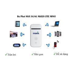Bộ phát wifi không dây từ sim 3G/4G ZTE MF65