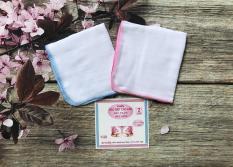 Combo 20 Khăn sữa 2 lớp 100% cotton (Kích thước 26 x 32 cm)