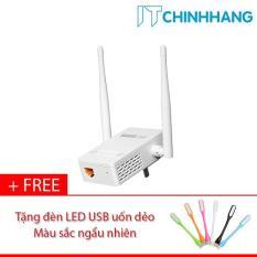 Thiết bị mở rộng sóng Wifi ToToLink EX200 + Tặng đèn LED USB – HÃNG PHÂN PHỐI CHÍNH THỨC