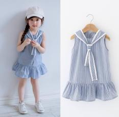 Váy kẻ dáng đuôi cá cực yêu dành cho bé từ 10 đến 35kg