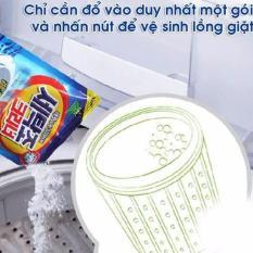 Bột vệ sinh lồng máy giặt Hàn Quốc Siêu Sạch Siêu Tiện Dụng