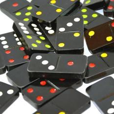 Bộ Cờ Domino FATACO Loại Lớn Nhất – Màu Đen
