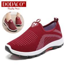 Giày Mọi Nữ Đế Bằng Lười Slip On Rẻ Đẹp 2019 DODACO DDC2025 A67