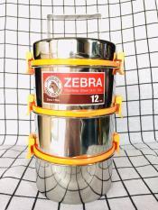 Camen cao cấp Zebra 3 ngăn 3 khoá cài (12x3k)
