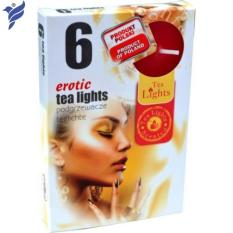 Hộp 6 nến thơm Tea lights Admit Erotic ADM7258 (Gỗ đàn hương)