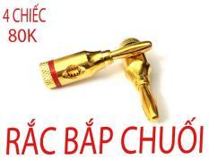 RẮC ÂM THANH- AUDIO JACK BẮP CHUỐI