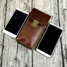 Túi đeo hông, túi đeo thật lưng, túi đeo ngang bụng đựng điện thoại da bò handmade – Zachi 1-ZC10326