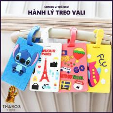 Combo 2 Thẻ đeo hành lý treo vali – Thanos Store