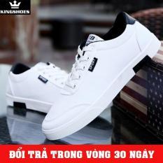 Giày Sneaker Nam Trắng 2018 (Giá Sốc) – KINGSHOES (KS07)