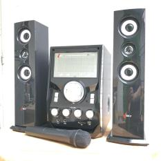 Dàn âm thanh giải trí đỉnh cao tại nhà – loa vi tính cỡ lớn hát karaoke âm thanh đỉnh cao có kết nối Bluetooth USB Isky – SK328 (Tặng kèm Microkhông dây)