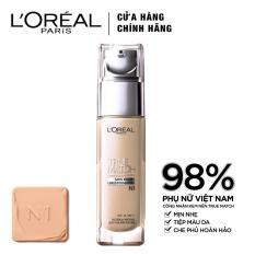 Kem nền mịn da L'Oreal Paris True match Liquid Foundation – N1 Nude Ivory 30ml