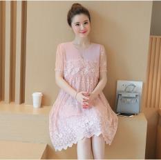 Váy bầu ren Hàn Quốc cao cấp