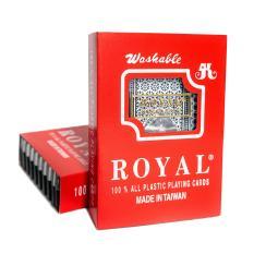 [Made in Taiwan] Bài Tây Nhựa Đài Loan Royal 100% Plastic