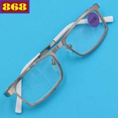 Mắt kính lão 868 inox trắng 3.5 độ