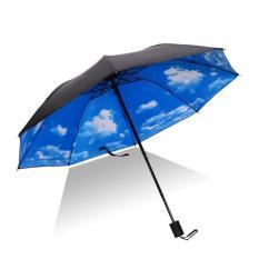 Dù che mưa nắng đặc biệt 3 lớp cao cấp chống tia UV, cản nhiệt (Kiểu Bầu trời)