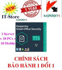 Phần mềm Kaspersky Small Office Security KSOS 1 File Server + 10 PCs + 10 Mobile