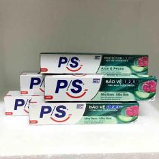 Combo 5 Kem đánh răng PS Nha Đam – Mẫu Đơn 30g + tặng 01 túi đựng mỹ phẩm xinh xắn