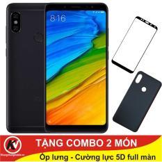 Giá Tốt Xiaomi Redmi Note 5 Pro 32GB Ram 3GB Kim Nhung ( Đen) + Ốp lưng + Cường lực 5D full màn (Đen) Kim Nhung Mobile