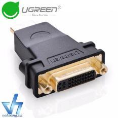 Đầu chuyển tín hiệu HDMI => DVI-I (24+5) Ugreen 20123