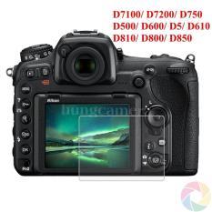 Kính cường lực cho máy ảnh Nikon D7100/ D7200/ D750/ D500/ D600/ D5/ D610/ D810/ D800/ D850