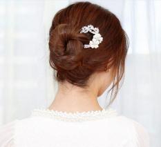 Trâm cài tóc, búi tóc, phụ kiện tóc cực xinh và sang trọng