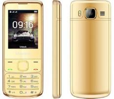 ĐTDĐ Masstel H860 màn hình màu 2.4 inch kiểu dáng giống 6700 khung viền mạ vàng 24k Full box+ Tặng kèm bao da