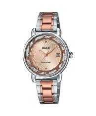 Đồng hồ nữ dây thép không gỉ Casio LTP-E120RG-9ADF