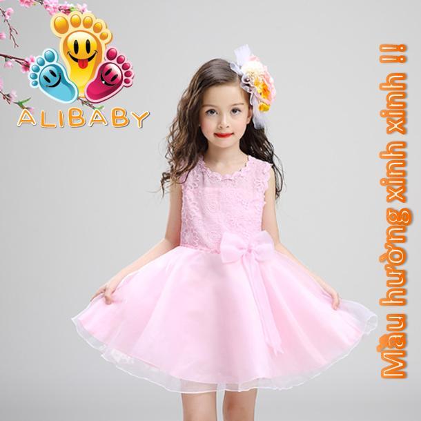 váy công chúa mùa hè bé gái đầm bé gái đi tiệc 2,3,4,5,6,7,8,9,10 tuổi