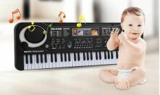 Đàn organ, đàn piano với 61 phím nhạc và micro cho bé – Kmart